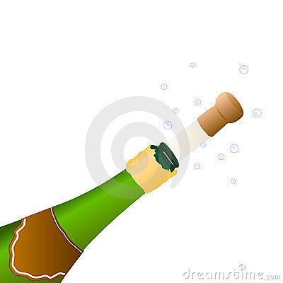 Champagne to celebrate an event