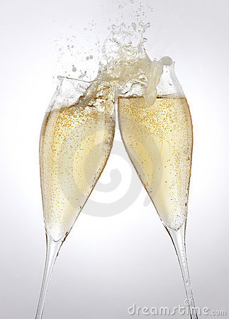 Free Champagne Toast Stock Photos - 12029563
