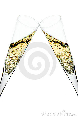 Free Champagne Toast Royalty Free Stock Photo - 3813065