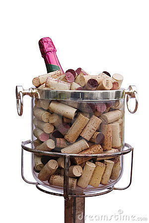 Free Champagne With Corks Royalty Free Stock Images - 1709909