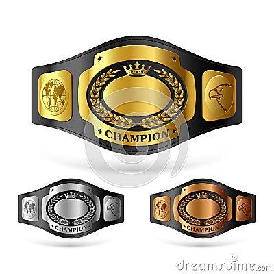 Free Champion Belt Stock Image - 22651181