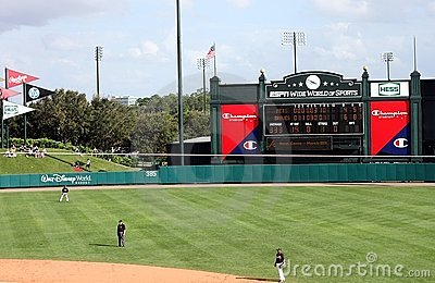 Champion stadium at the ESPN Wide World of Sports Editorial Photo