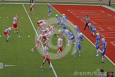 Championnat 2013 de football américain d euro Image éditorial