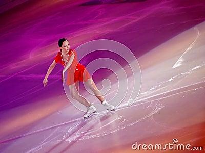 Champions on ice-Rimiini 2012-E.Tuktamysheva Editorial Image