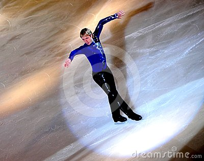 Champions on ice- Rimini 2012- Eugeni Plushenko Editorial Image