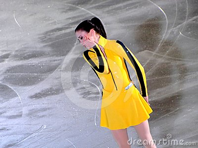 Champions on ice - Rimini 2012 . Laura  Lepisto Editorial Photo