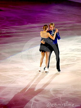 Champions on ice-Rimini 2012-Plushenko & Kostner Editorial Photo