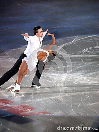 Champions on ice - Rimini 2012- Stolbova & Klimov Editorial Image