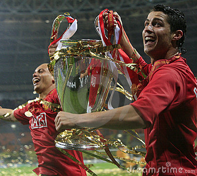 Free Champions League Final Luzhniki Stadium Moscow Royalty Free Stock Photos - 5805158