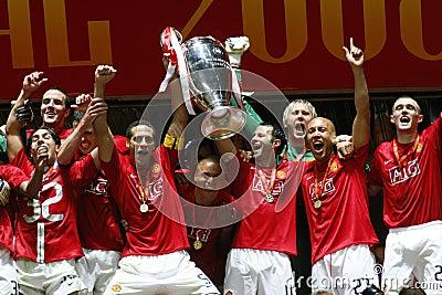 Champions League Final  Luzhniki Stadium Moscow Editorial Stock Image