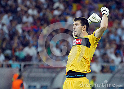 CHAMPIONS LEAGUE: STEAUA BUCHAREST-LEGIA WARSAW Editorial Photography