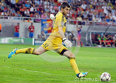 CHAMPIONS LEAGUE: STEAUA BUCHAREST-LEGIA WARSAW Editorial Photo