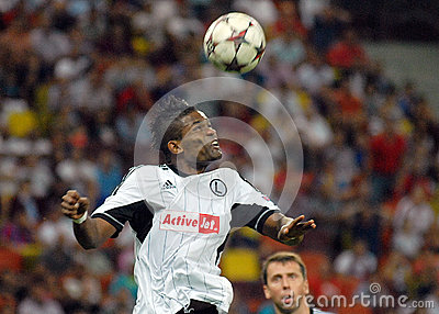 CHAMPIONS LEAGUE: STEAUA BUCHAREST-LEGIA WARSAW Editorial Image