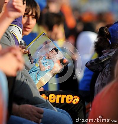 Championship celebrations of APOEL club, CYPRUS Editorial Photography