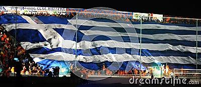 Championship celebrations of APOEL club, CYPRUS Editorial Image