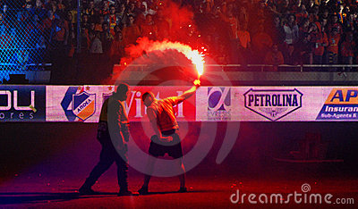 Championship celebrations of APOEL club, CYPRUS Editorial Photo