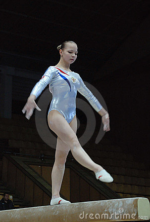 Championship on sporting gymnastics Editorial Image