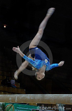 Championship on sporting gymnastics Editorial Photography