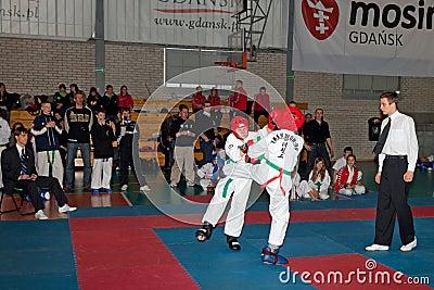 Championships Taekwon-do Editorial Stock Photo