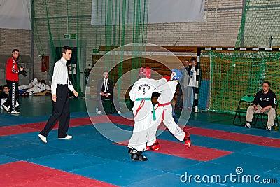 Championships Taekwon-do Editorial Image