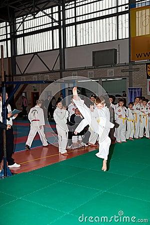 Championships Taekwon-do Editorial Stock Image