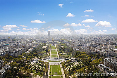 CHAMPS DE MARS, PARIS