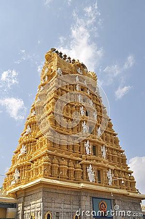 Chamundeshwari Temple.