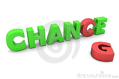 Chance to Change II - Red and Green