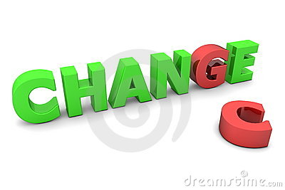Chance to Change - Red and Green