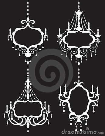 Free Chandelier Frame Set Royalty Free Stock Images - 18551429