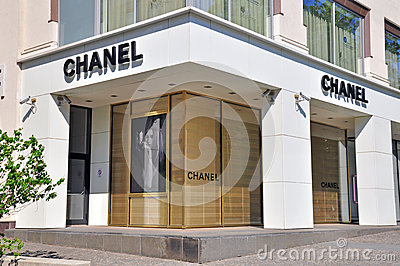 Chanel boutique Editorial Stock Photo