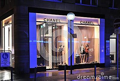Chanel fashion store Editorial Photo