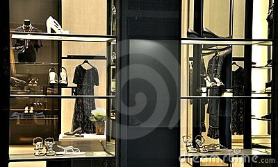 Chanel fashion store Editorial Stock Image