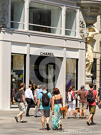 Chanel store editorial image image 61088300 for French house of high fashion