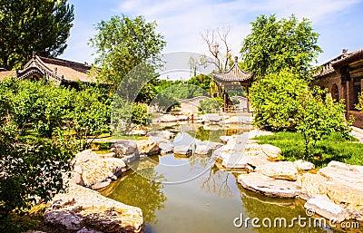 Chang s Manor Park scene-Manor`s garden