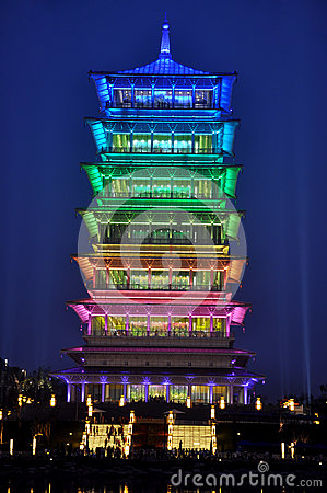 Chang an Tower Editorial Photography