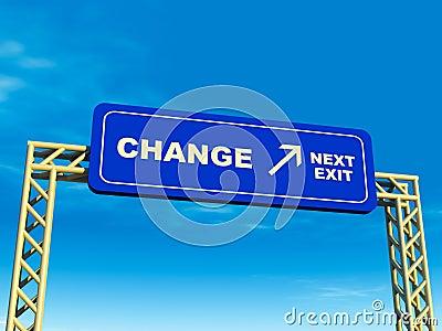 Change exit