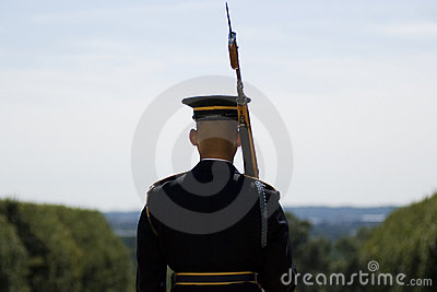Change of the Guard in Arlington Cemetery Editorial Photography
