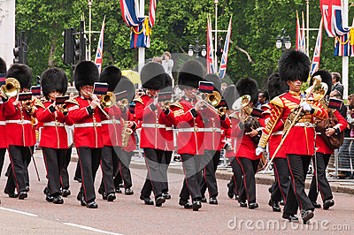 Change of the Guard, London Editorial Stock Image