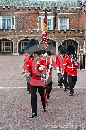 Change of the Guard, London Editorial Photo