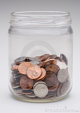 Free Change Jar Stock Photography - 9278712