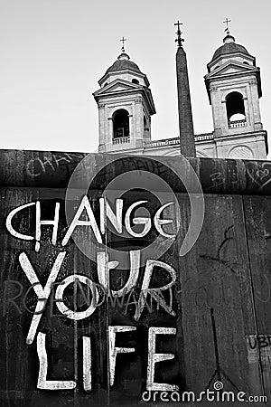 Change Life Chtistianity Warning Church Street