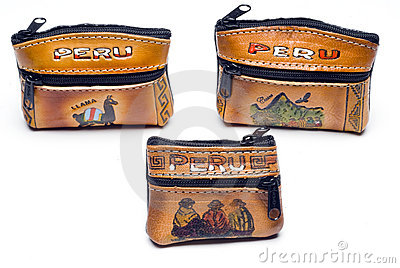 Change purses from peru