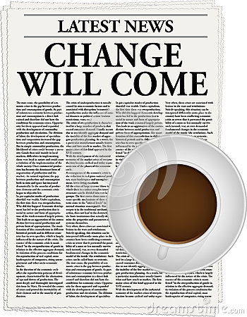 Change will come