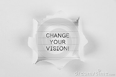 vision change paper Eye focusing — the ability to quickly and accurately maintain clear vision as the distance from objects change, such as when looking from the chalkboard to a paper on the desk and back eye focusing allows the child to easily maintain clear vision over time like when reading a book or writing a report eye tracking — the.