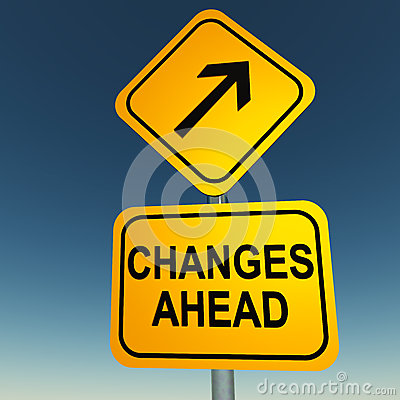 Free Changes Ahead Royalty Free Stock Image - 26789336