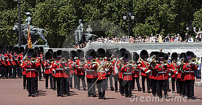 Changing of the Guard Editorial Stock Photo