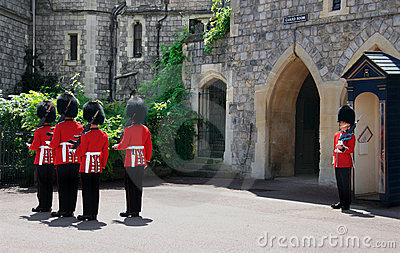 Changing of the Guard Editorial Photography