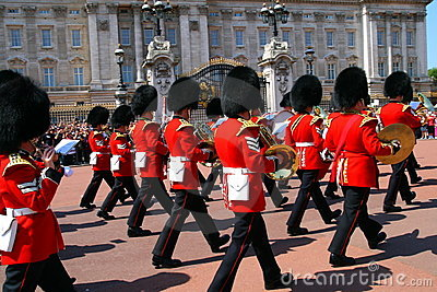 Changing of guard Editorial Stock Image