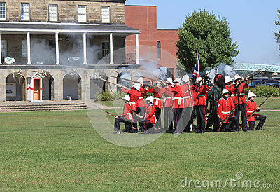 Changing of the Guard Ceremony Editorial Image
